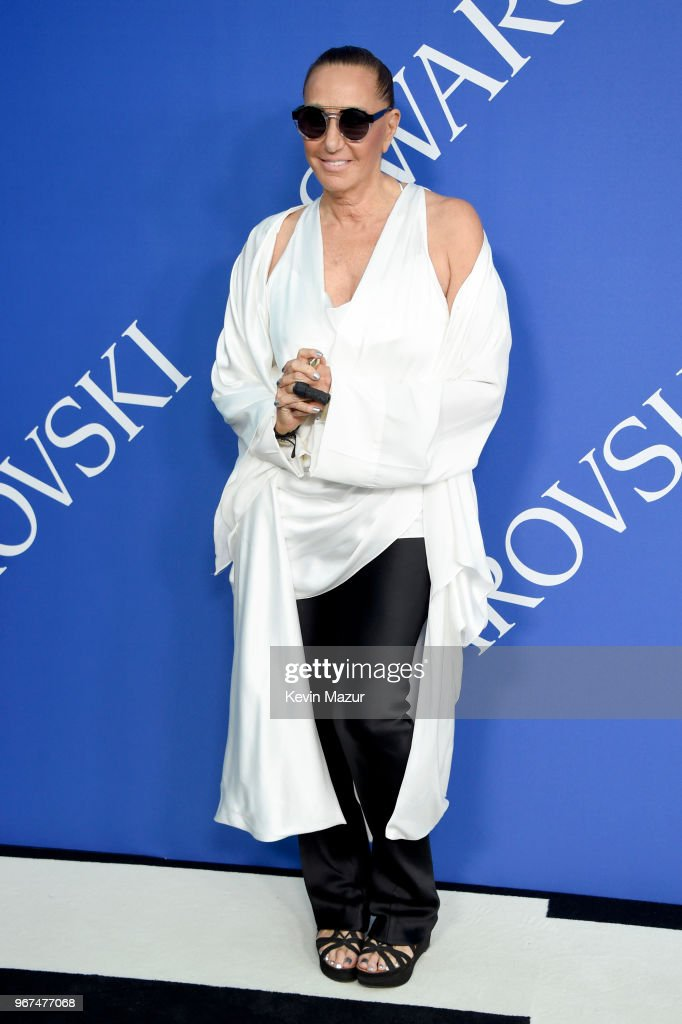 Donna Karan attends the 2018 CFDA Fashion Awards at Brooklyn Museum on June 4, 2018 in New York City.