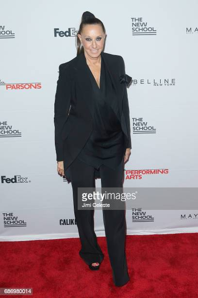 Donna Karan attends the 69th annual Parsons benefit at Pier Sixty at Chelsea Piers on May 22 2017 in New York City