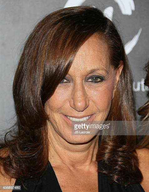 Donna Karan attends the fifth annual PSLA Autumn Party benefiting Childrens Institute Inc sponsored by Saks Fifth Avenue with fashion partner Donna...