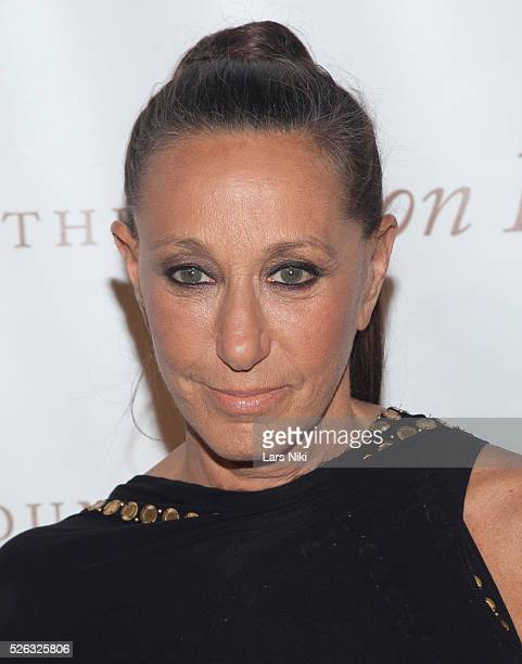 Donna Karan attends the Gordon Parks Foundation Awards Dinner at the Plaza Hotel in New York City �� LAN