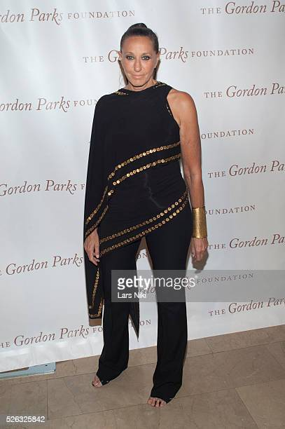 Donna Karan attends the Gordon Parks Foundation Awards Dinner at the Plaza Hotel in New York City �� LAN