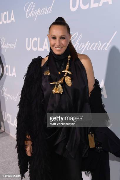 Donna Karan attends the UCLA IoES honors Barbra Streisand and Gisele Bundchen at the 2019 Hollywood for Science Gala on February 21 2019 in Beverly...