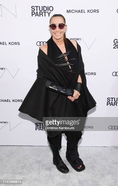 Donna Karan attends the Whitney Museum Of American Art Gala + Studio Party at The Whitney Museum of American Art on April 09, 2019 in New York City.