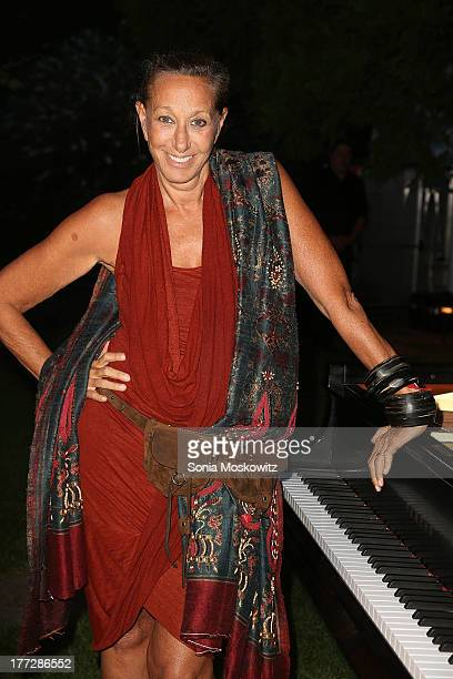 Donna Karan attends the Women's Fund Of Long Island's Summer Soiree and Benefit at The Maidstone Hotel on August 22 2013 in East Hampton New York