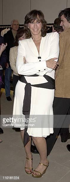 Donna Karan during Donna Karan Hosts a Celebration for Doctor Frank Lipman s Book at Donna Karan New York in New York City New York United States