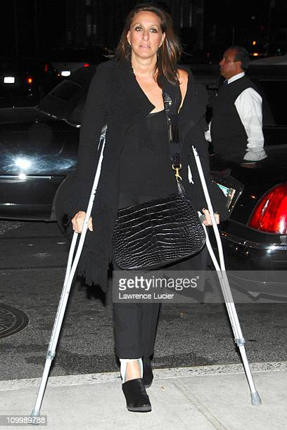 Donna Karan during Flags Of Our Fathers Special New York Screening Presented By The Cinema Society and Zenith Watches Outside Arrivals at Tribeca...