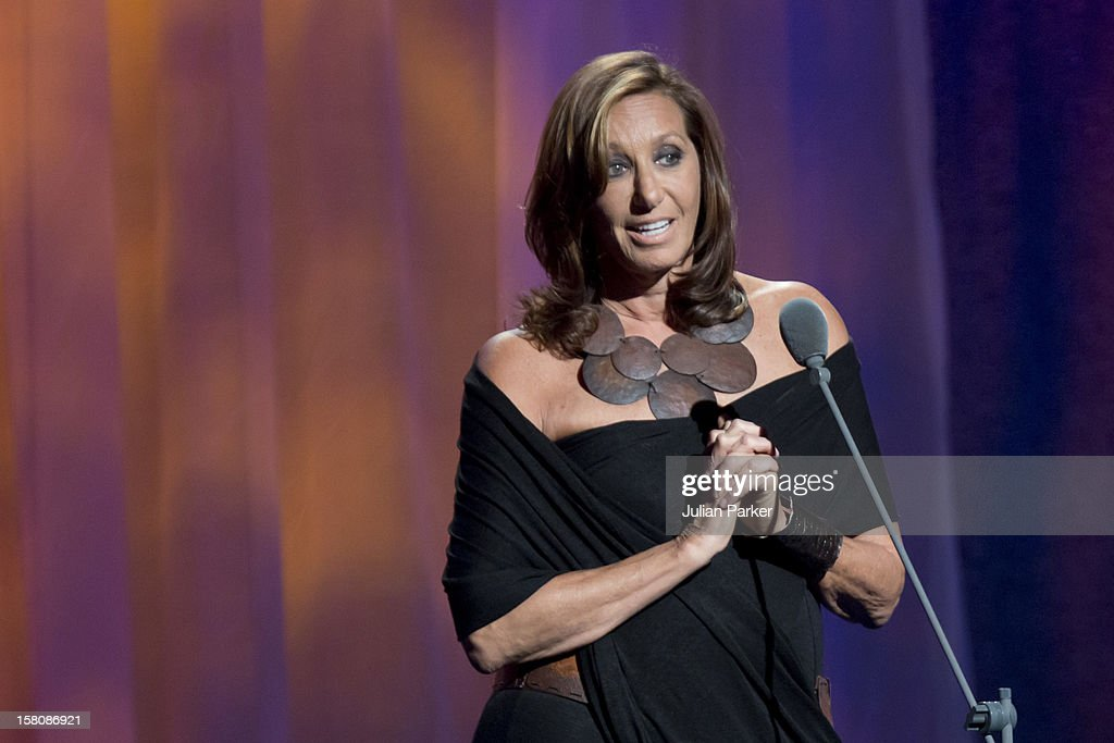 Donna Karan Presents At The Clinton Global Initiative, At The Sheraton Hotel And Towers In New York, Usa. .