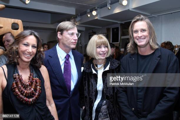 Donna Karan Shelby Bryan Anna Wintour and Russell James attend LISA FOX and THE HONORABLE JOHN OLSON AO AUSTRALIAN CONSUL GENERAL Present the NOMAD...