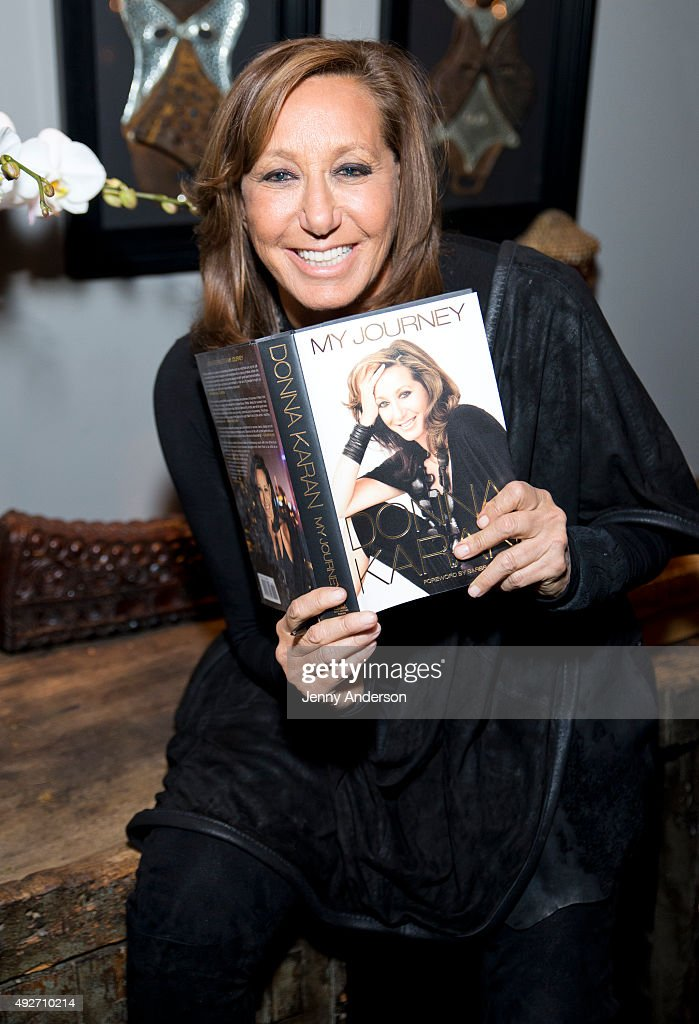 """Donna Karan's """"My Journey"""" Book Release Party"""