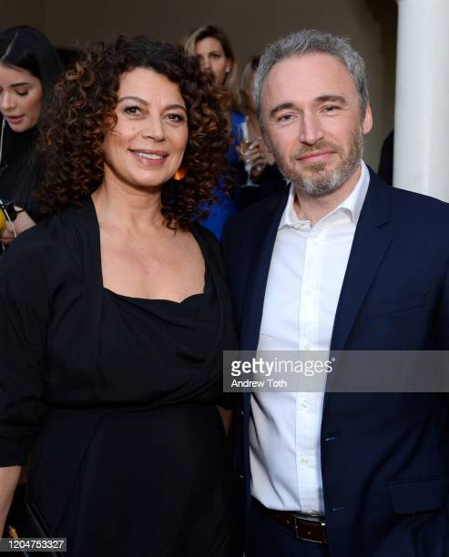 Donna Langley is Chairman Universal Filmed Entertainment Group and British Consul General Michael Howells attend a celebration for British Oscar...