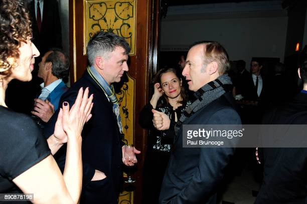 Donna Langley Paul Thomas Anderson Mimi O'Donnell and Bob Odenkirk attend the New York premiere of 'Phantom Thread' After Party at Harold Pratt House...