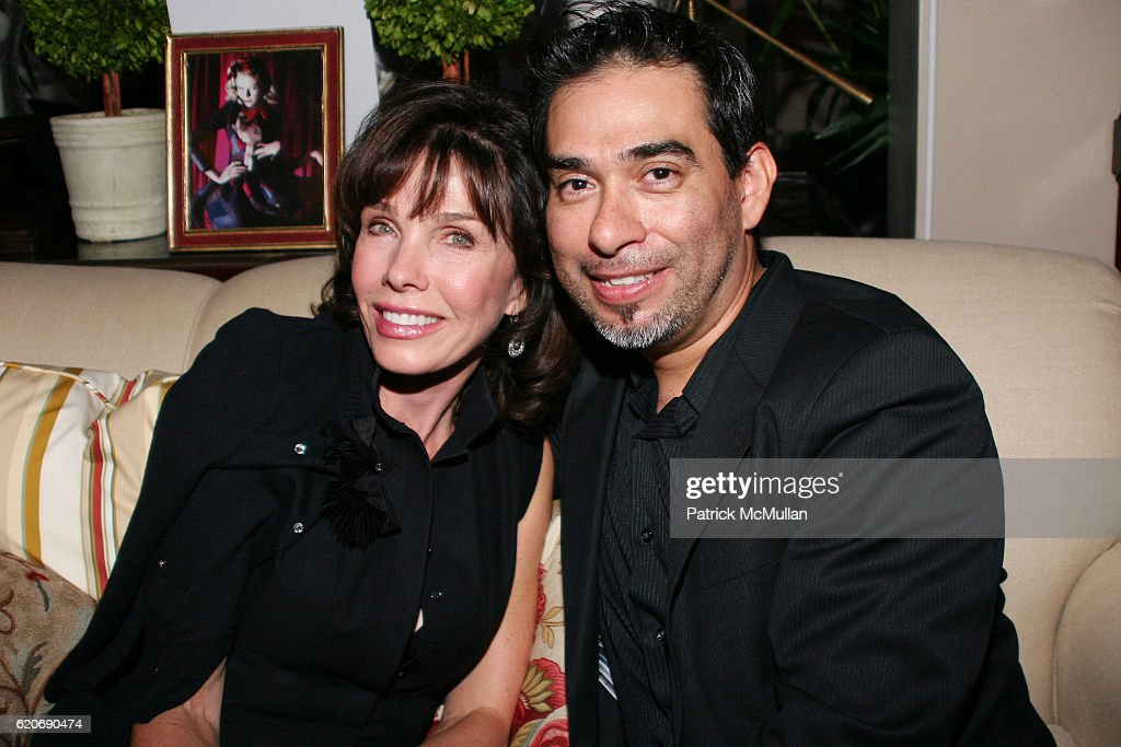 Donna Livingston And Sig Delarorre Attend DIFFAu0027S DINING BY DESIGN LA 2008  At Barclay Butera Showroom