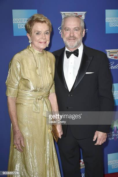 Donna MacMillan and Bill Nicholson attend the 29th Annual Palm Springs International Film Festival Film Awards Gala Arrivals at Palm Springs...