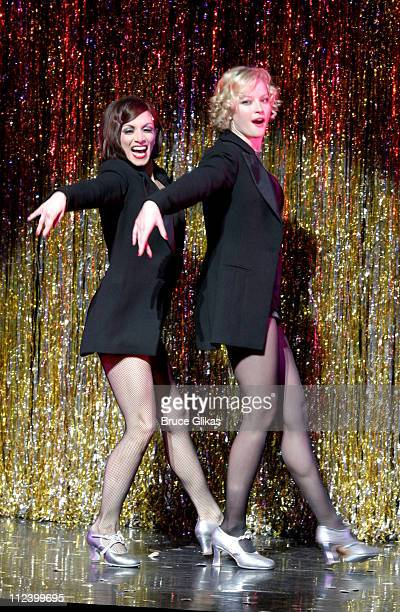 Donna Marie Asbury and Gretchen Mol during Chicago on Broadway Welcomes Gretchen Mol at The Ambassador Theater in New York City New York United States