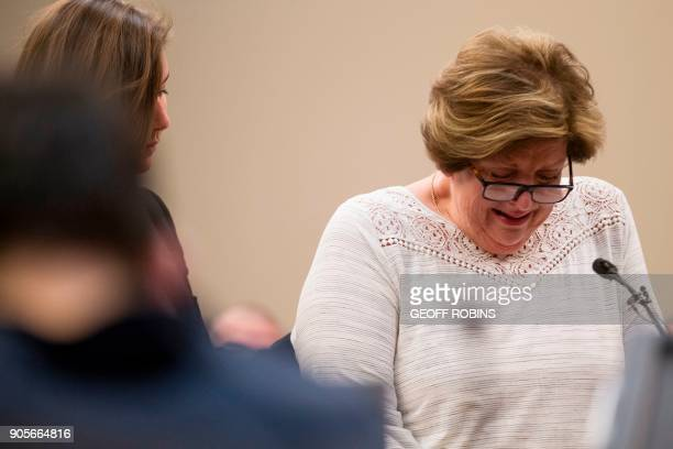 Donna Markham mother of Chelsea Markham a victim of doctor Larry Nassar gives a victim impact statement on behalf her daughter who committed suicide...