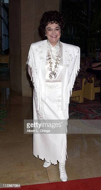 Donna Martell during The 2002 Golden Boot Awards at The Beverly Hilton Hotel in Beverly Hills California United States