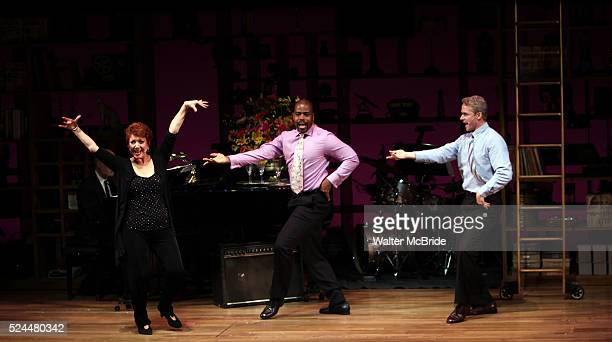Donna McKechnie Bernard Dotson Brian O'Brien performing at the Nothing Like A Dame A Party For Comden And Green at the Laura Pels Theatre in New York...