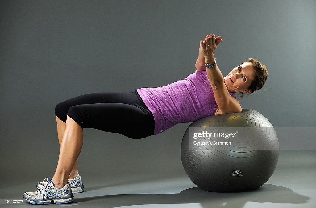 Donna Miller a certified personal trainer and running coach shows ...