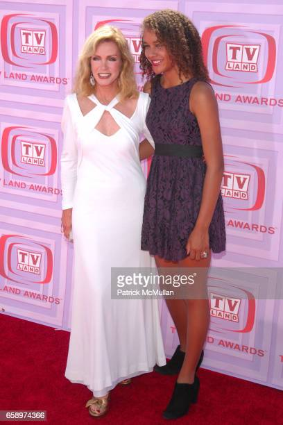 Donna Mills and Chloe Mills attend 2009 TV LAND AWARDS at Universal Studios on April 19 2009 in Los Angeles CA