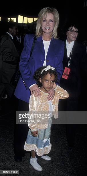 Donna Mills and Chloe Mills during Benefit for the Women of Afghanistan March 29 1999 at The Directors Guild of America Theatre in Los Angeles...