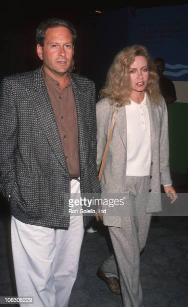 Donna Mills and guest during Party for Jesus Christ Superstar at Gladstone's in Universal City California United States