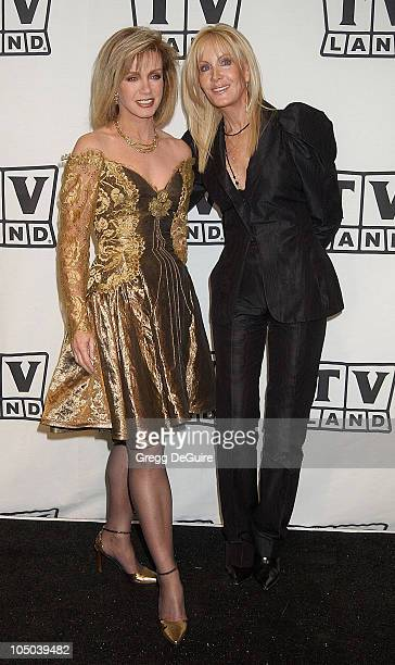 Donna Mills and Joan Van Ark during TV Land Awards: A Celebration of Classic TV - Press Room at Hollywood Palladium in Hollywood, California, United...