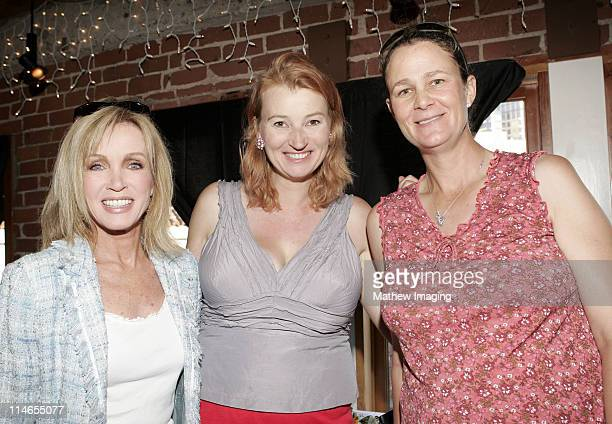 Donna Mills Anna Wilding and Pam Shriver *Exclusive Coverage*