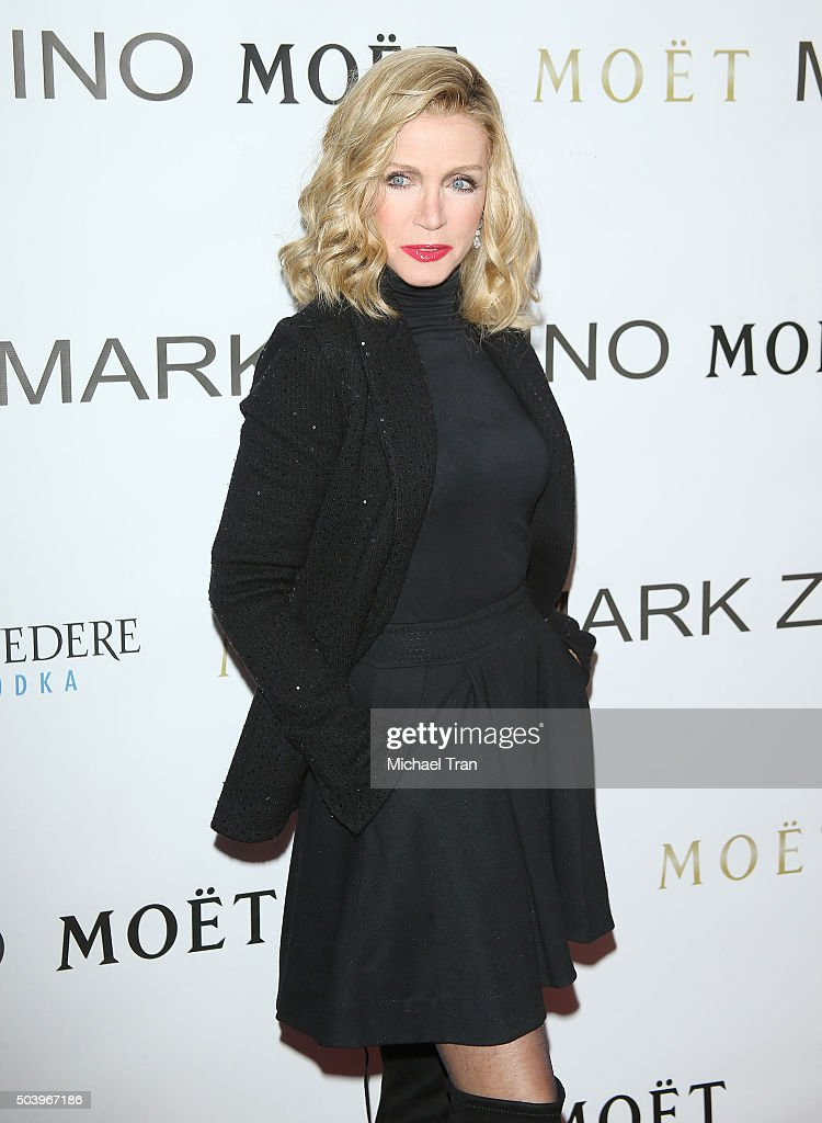Donna Mills arrives at Mark Zunino Atelier opening held on January 7, 2016 in Beverly Hills, California.