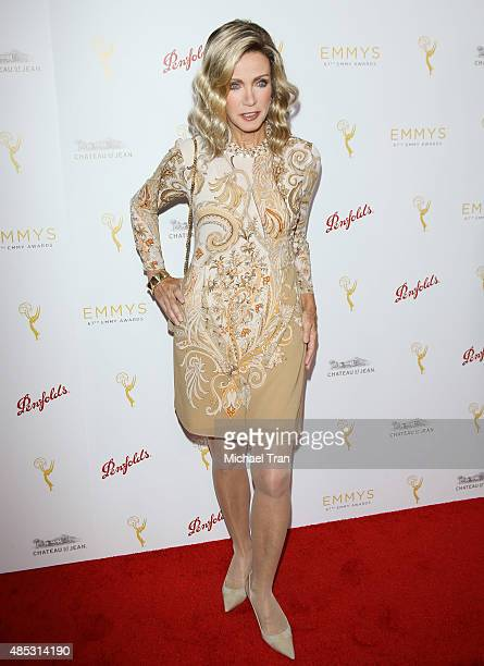 Donna Mills arrives at the Television Academy hosts cocktail reception to celebrate Daytime Programming Peer Group held at Montage Beverly Hills on...