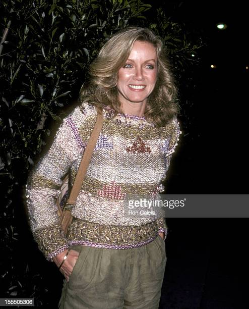 Donna Mills at Le Dome Restaurant during Donna Mills File Photos in West Hollywood California United States