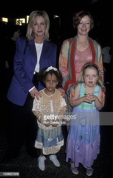 Donna Mills Chloe Mills Frances Fisher and daughter