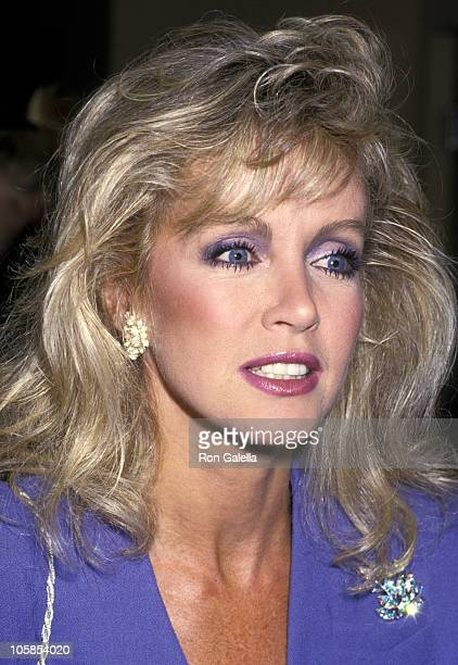 Donna Mills during 1987 National Conference of Christians and Jews at The Beverly Hilton Hotel in Beverly Hills CA United States