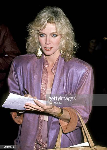 Donna Mills during 20th Anniversary Celebration of the National Organization for Women at Dorothy Chandler Pavilion in Los Angeles California United...