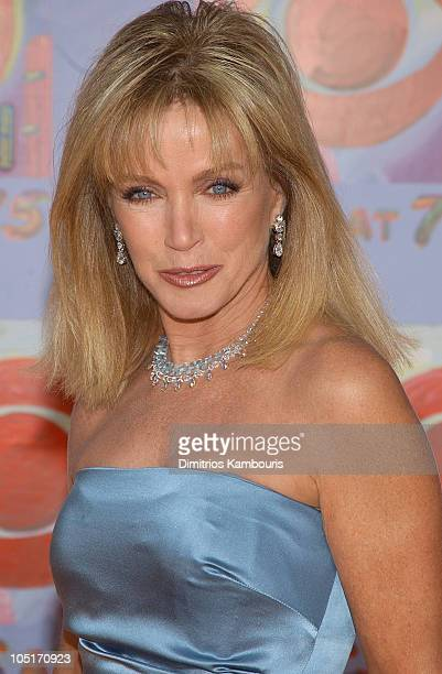 Donna Mills during CBS at 75 at Hammerstein Ballroom in New York City New York United States