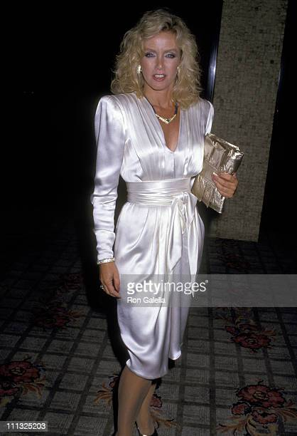 Donna Mills during CBS TV Affiliates Party at Century Plaza Hotel in Los Angeles California United States