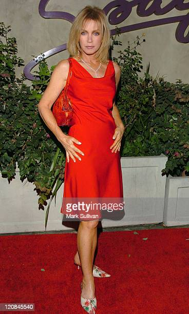 Donna Mills during CNN Celebrates 20 Years with Larry King Arrivals at Spago in Beverly Hills California United States