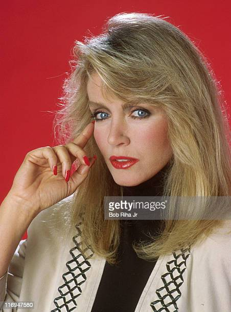 Donna Mills during Donna Mills 1989 Portrait Session by Bob Riha in Los Angeles California United States