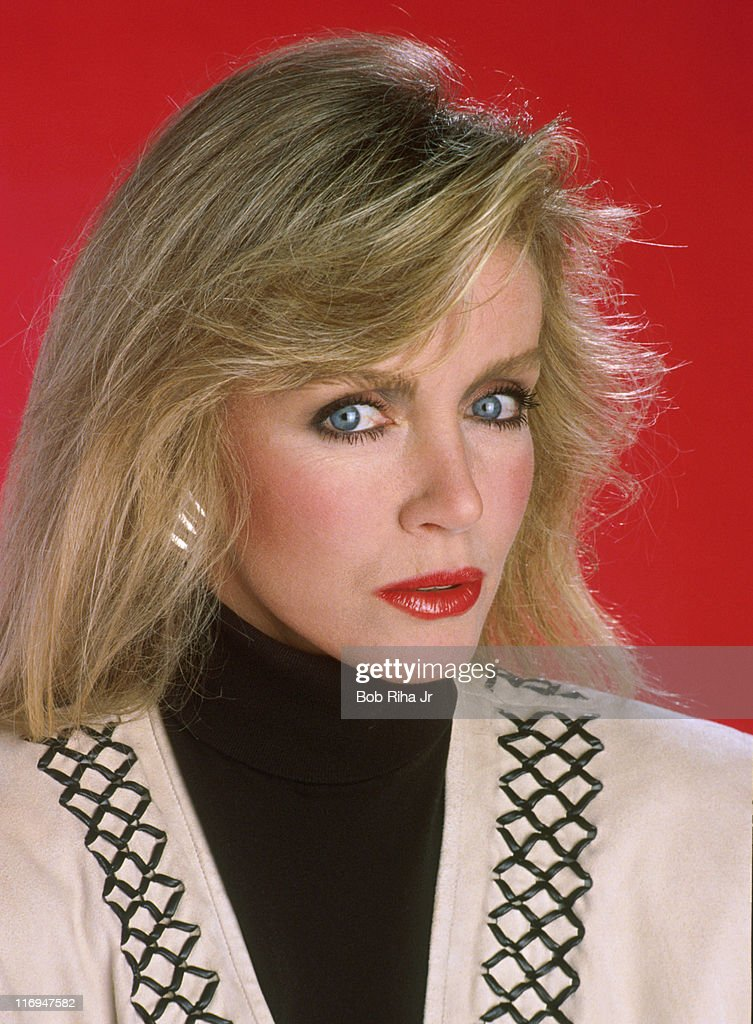 Donna Mills during Donna Mills 1989 Portrait Session by Bob Riha in Los Angeles, California, United States.