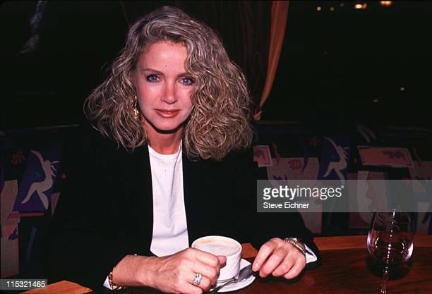 Donna Mills during Donna Mills at Iridium 1994 at Iridium in New York City New York United States