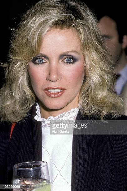 Donna Mills during Fundraiser Benefit for Senator Gary Hart 1984 at Dorothy Chandler Pavilion in Los Angeles California United States