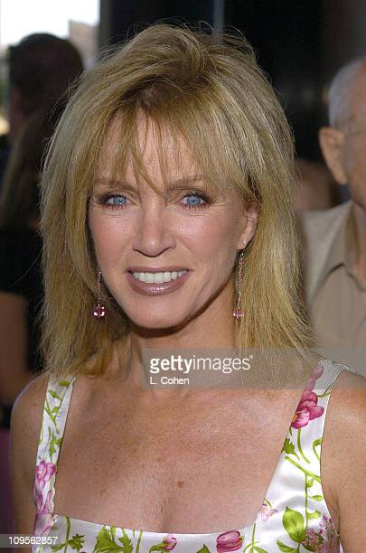 Donna Mills during 'Hairspray' Opening Night Los Angeles Red Carpet at Pantages Theatre in Los Angeles California United States