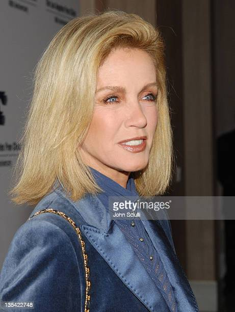 Donna Mills during Los Angeles Free Clinic Annual Dinner Gala Honoring Paramount Pictures Corporation Chairman and CEO Brad Grey Red Carpet at...