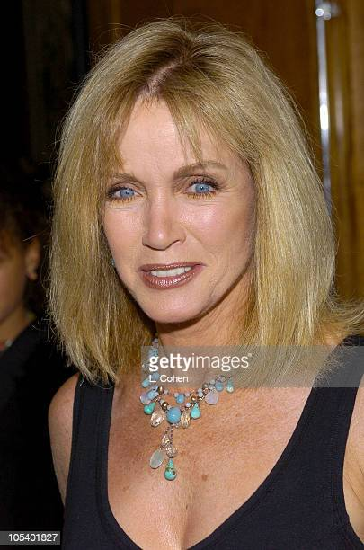 Donna Mills during 'Mamma Mia' Los Angeles Premiere Red Carpet at Pantages Theatre in Hollywood California United States