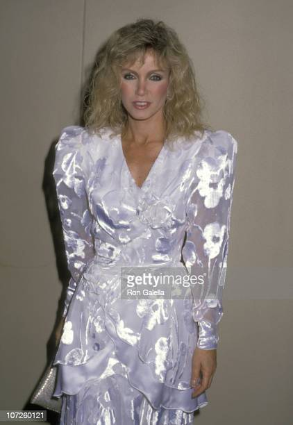 Donna Mills during Nolan Miller's Culture Collection Unveiled at Four Seasons Hotel in Beverly Hills California United States