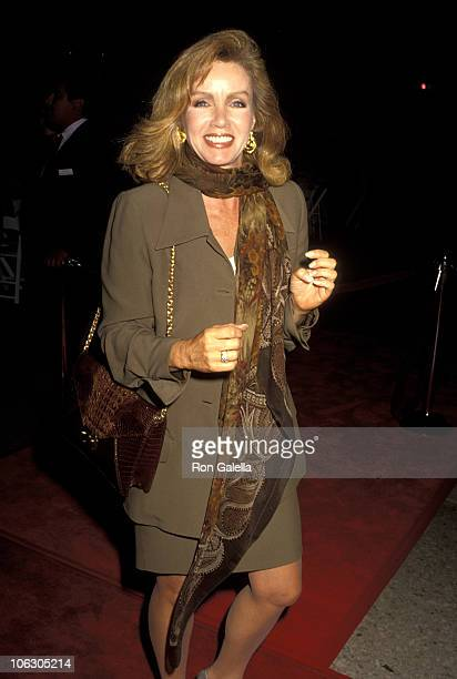 Donna Mills during Premiere of Hero at Cineplex Odeon Cinemas in Century City California United States