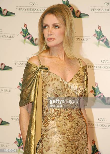 Donna Mills during QVC Presents the 12th Annual FFANY Shoes on Sale Breast Cancer Event at Pier 94 in New York City New York United States