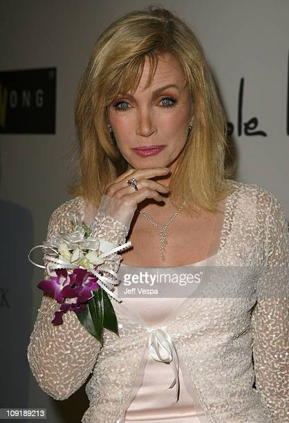 """Donna Mills during Sharon Stone and Kelly Stone Host the 1st Annual """"Class of Hope Prom 2007"""" Charity Benefit Red Carpet and Inside at Sportsmen's..."""