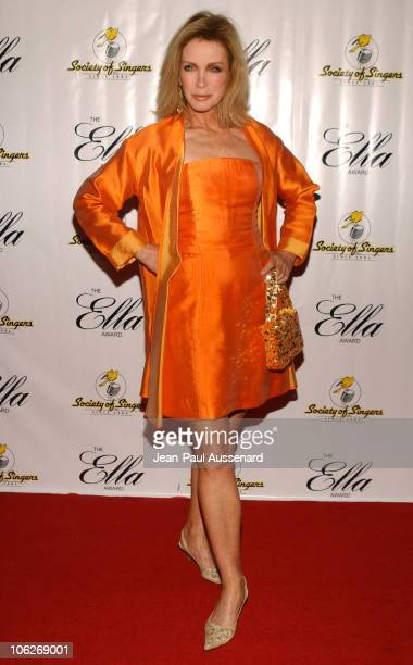 Donna Mills during Society of Singers 14th Annual Awards Honoring Sir Elton John at Beverly Hilton Hotel in Beverly Hills California United States