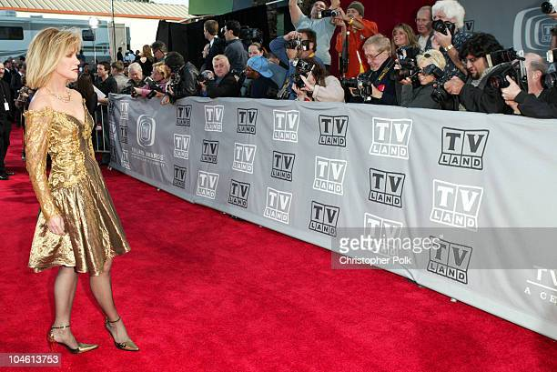 Donna Mills during The TV Land Awards Arrivals at Hollywood Palladium in Hollywood CA United States