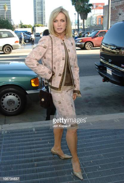 Donna Mills during 'Wicked' Los Angeles Opening Night Arrivals at Pantages Theatre in Hollywood California United States
